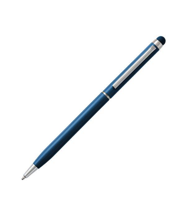 Bolígrafo Touch Aluminio Azul. Artículos Publicidad