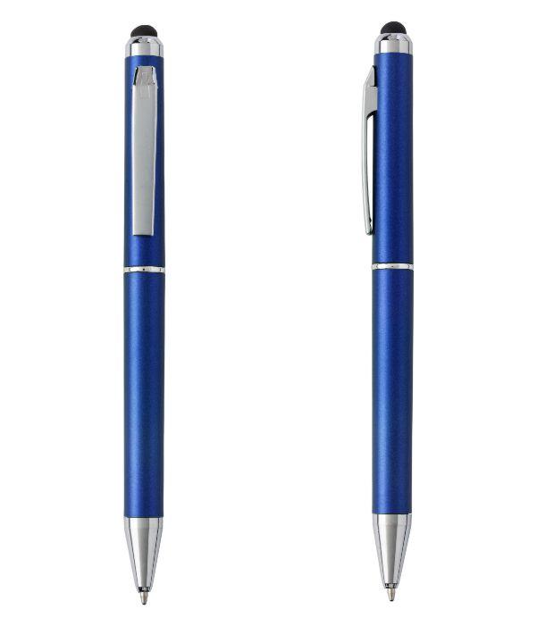 Bolígrafo Touch Giratorio Azul. Artículos Promocionales Madrid