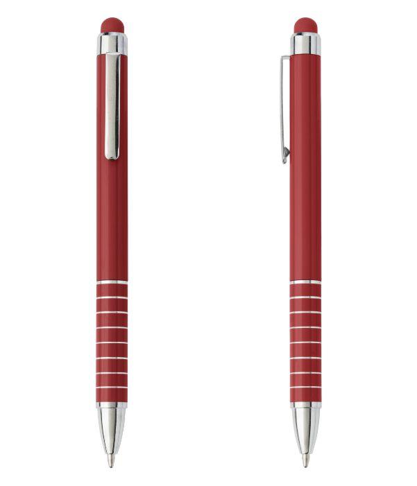 Bolígrafo Touch Publicitario Burdeos. Publicidad