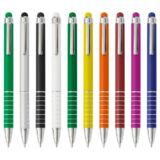 Bolígrafo Touch Publicitario Colores. Publicidad