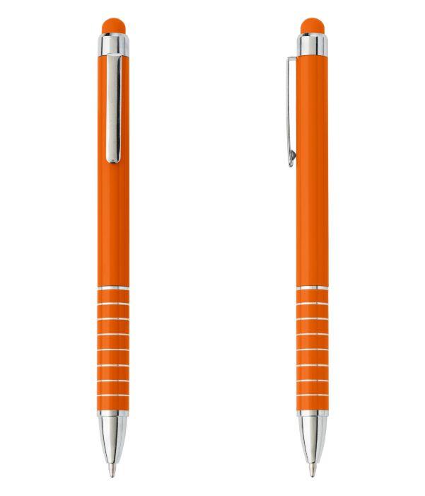 Bolígrafo Touch Publicitario Naranja. Publicidad