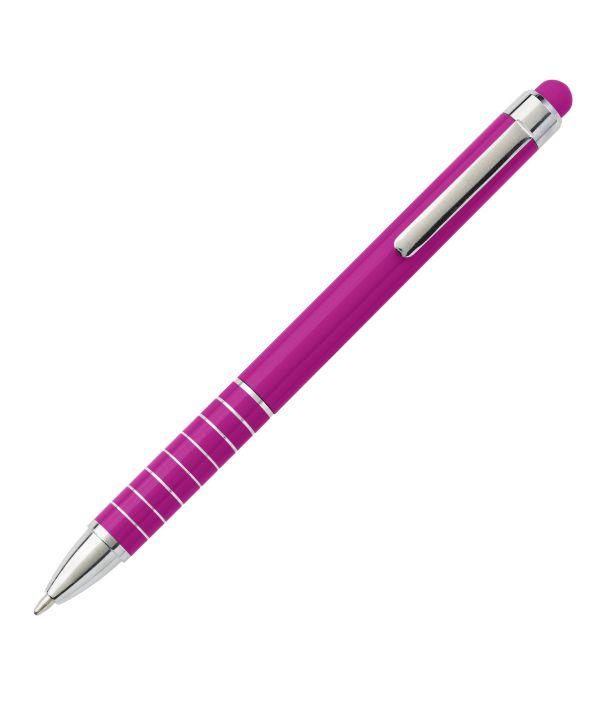 Bolígrafo Touch Publicitario Rosa. Publicidad