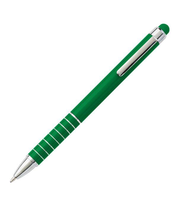Bolígrafo Touch Publicitario Verde. Publicidad