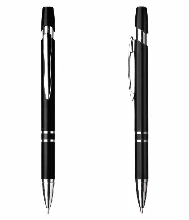 Bolígrafo Plástico Elegante Negro. Propaganda