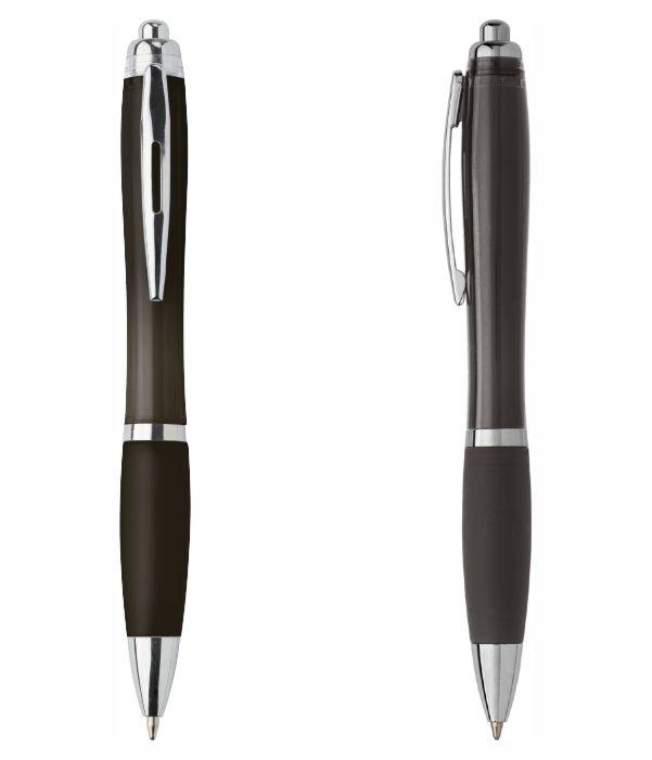 Bolígrafo Plástico Publicitario. Negro. Regalos Publicitarios