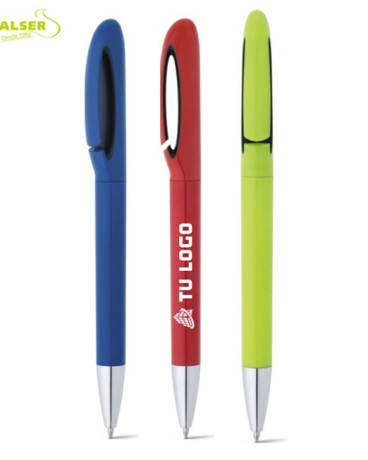 Bolígrafo promocional de colores