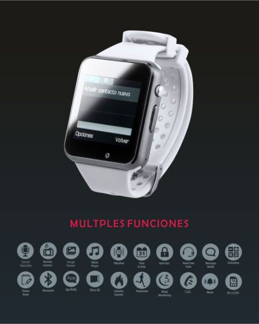 Reloj Inteligente Personalizado Correa. Regalos corporativos