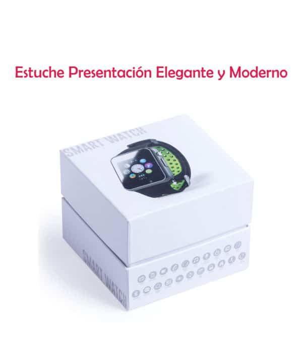 Reloj Inteligente Personalizado estuche. Regalos corporativos
