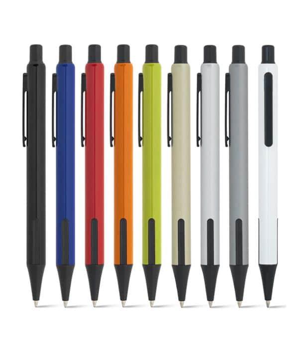Bolígrafo Económico Aluminio Colores