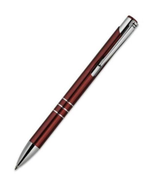 Bolígrafo Metálico Personalizado Burdeos