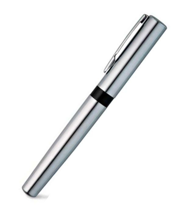 Bolígrafo Rollerball Metalizado funda terciopelo. Regalos Publicitarios
