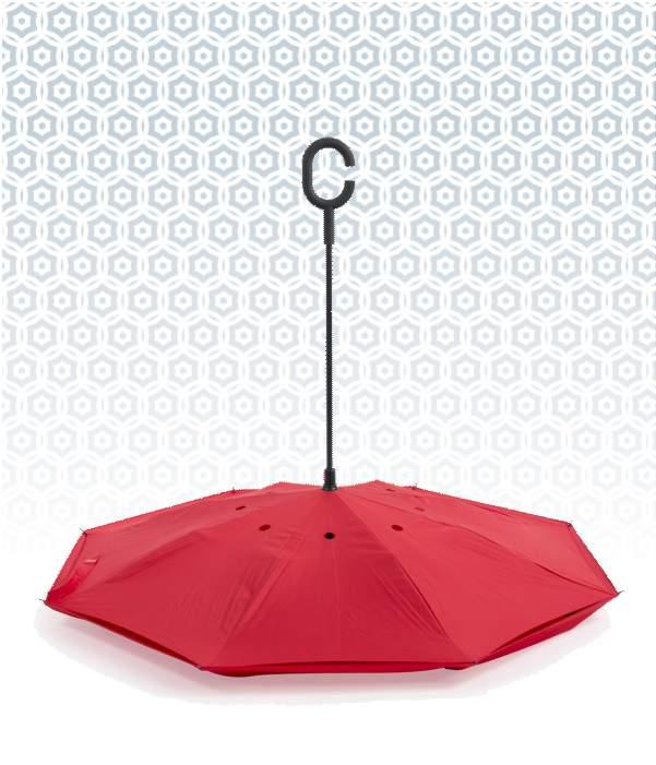 Paraguas Reversible Doble Capa