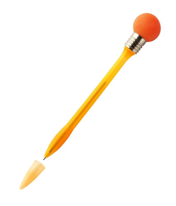 Bolígrafo Original Bombilla Naranja