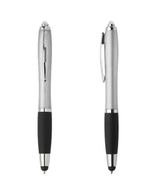 Bolígrafo Original con Luz LED Plata