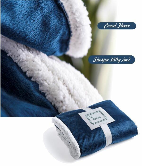 Manta Polar de Sofa Warmte