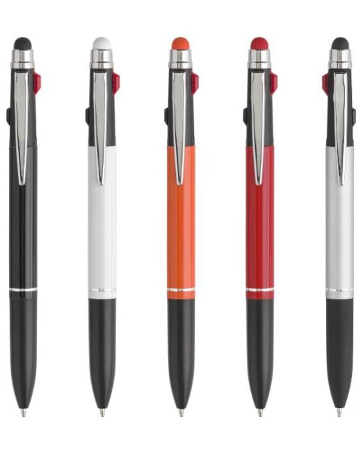 Bolígrafo Original Personalizado Tres Tintas Touch Colores