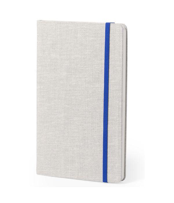 Block de Notas Poliéster Azul