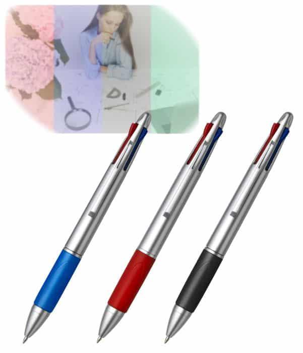 Bolígrafo con 4 Tintas