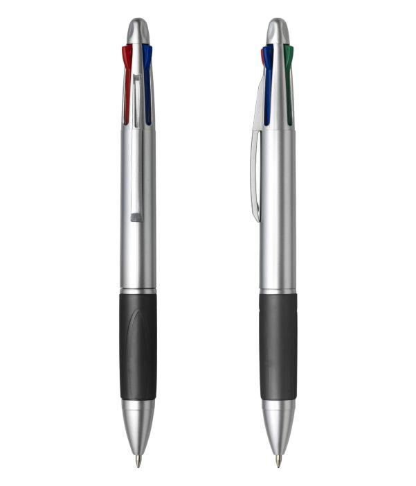 Bolígrafo con 4 tintas Negro. Artículo Publicitario