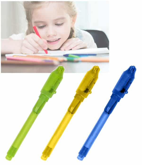 Bolígrafo Tinta Invisible