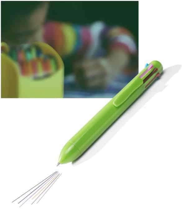 Bolígrafo 8 Colores