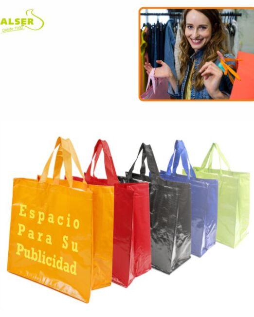 Bolsa Compra Brillante Personalizada