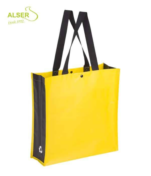 Bolsa Compra Resistente Amarillo. Publiregalo