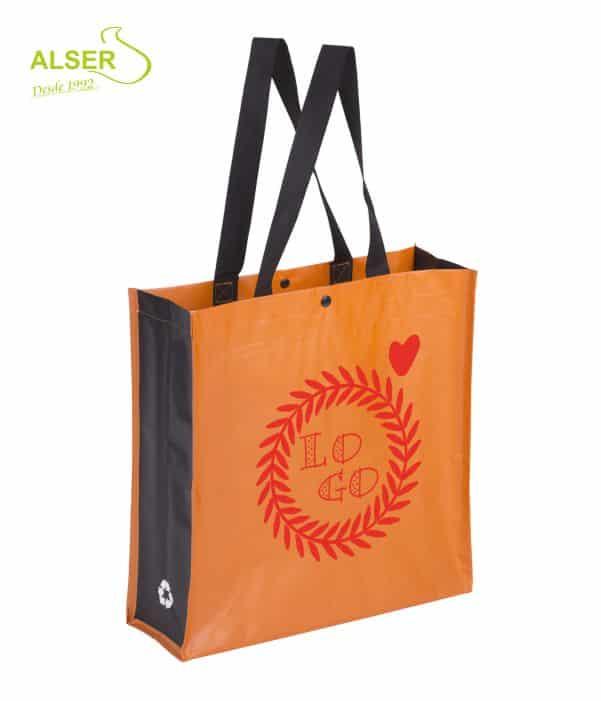 Bolsa Compra Resistente Naranja. Publiregalo