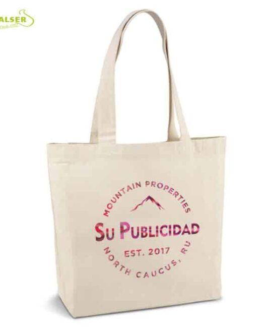 Bolsa Lona Algodón Publicitaria.