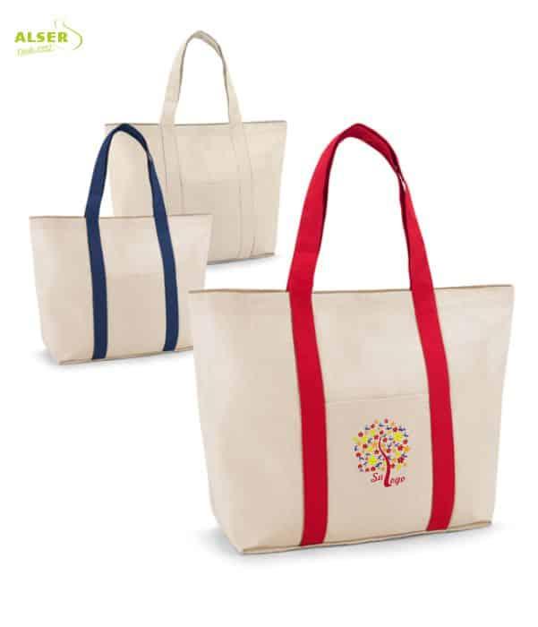 Bolsa Playa Bicolor Personalizable Colores. Regalo de Empresa