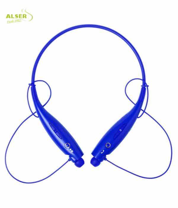 Auriculares Bluetooth Deporte Azul. Artículo Publicitario