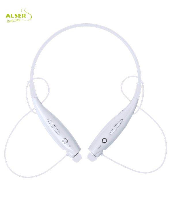 Auriculares Bluetooth Deporte Blanco. Artículo Publicitario