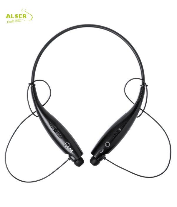 Auriculares Bluetooth Deporte Negro. Artículo Publicitario