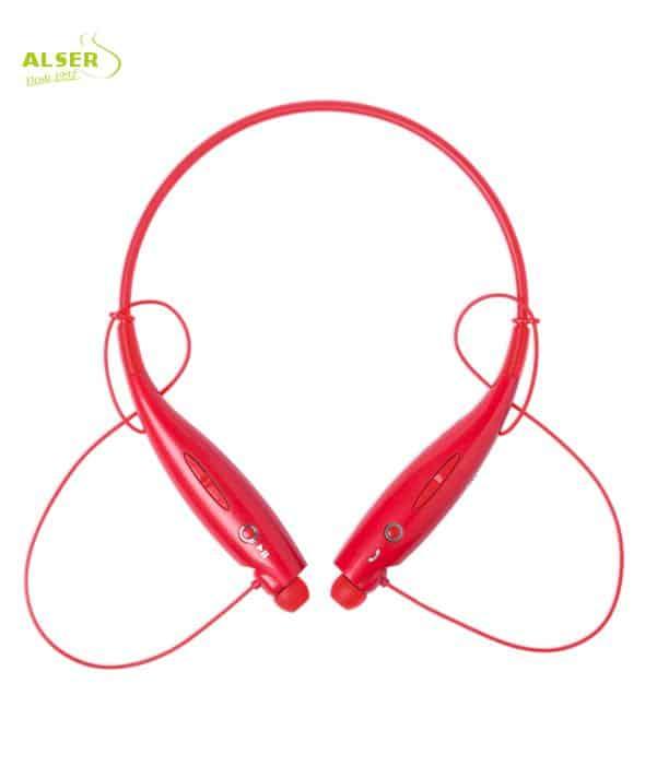 Auriculares Bluetooth Deporte Rojo. Artículo Publicitario