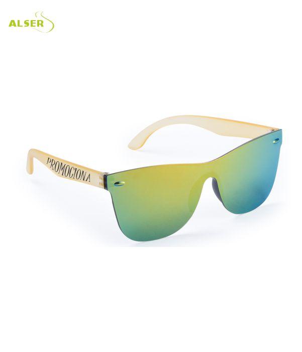 Gafas de Sol Unisex Promocionales para empresa Amarillas