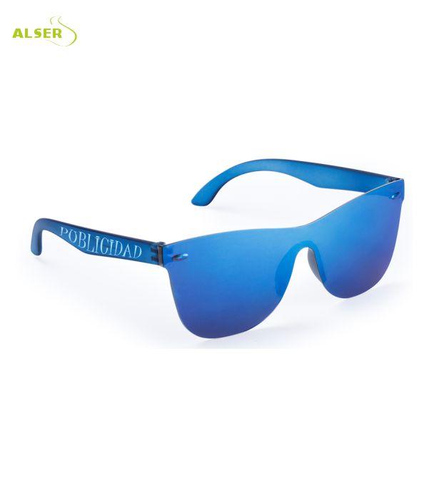 Gafas de Sol Unisex Promocionales para empresa Azules