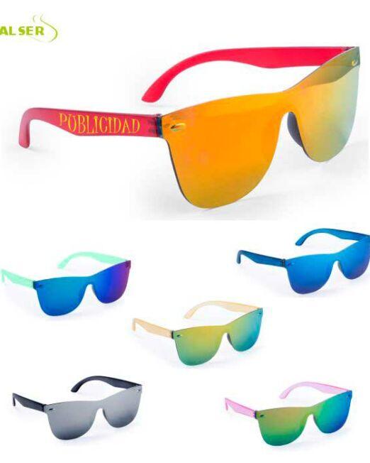 Gafas de Sol Unisex Promocionales para empresa. Todos los Colores