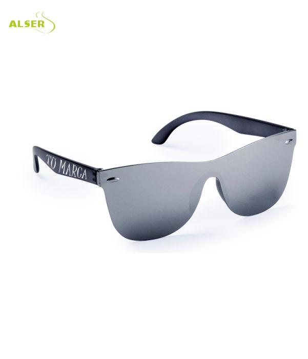 Gafas de Sol Unisex Promocionales para empresa Negras