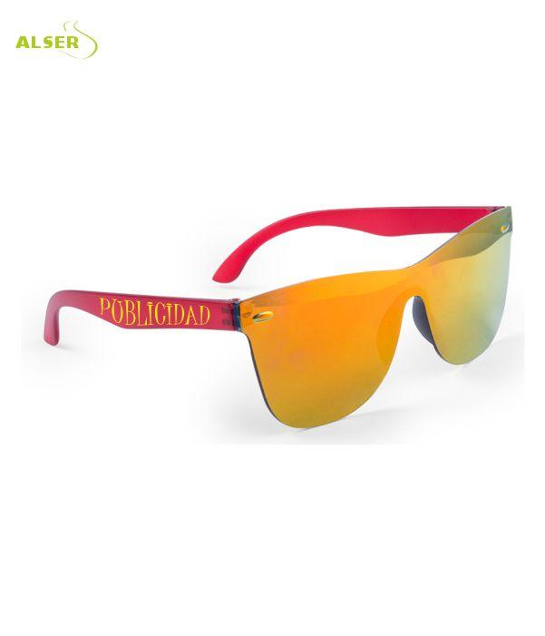 Gafas de Sol Unisex Promocionales para empresa Rojas