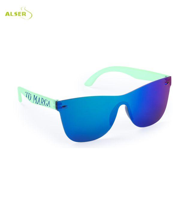 Gafas de Sol Unisex Promocionales para empresa Verde