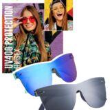 Gafas de Sol Unisex Promocionales colres Azul y Negro