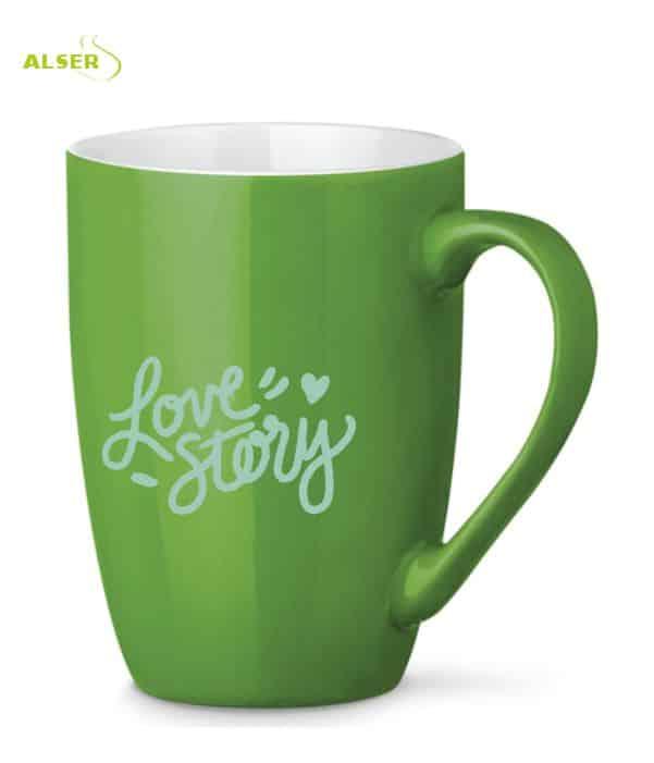Mug Cerámica para personalizar Verde Claro