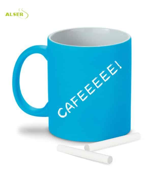 Mug Original tiza Azul