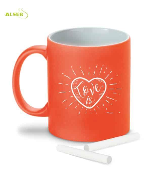 Mug Original tiza Naranja