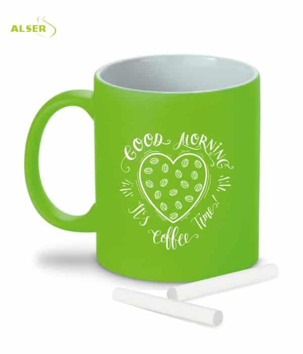 Mug Original tiza Verde