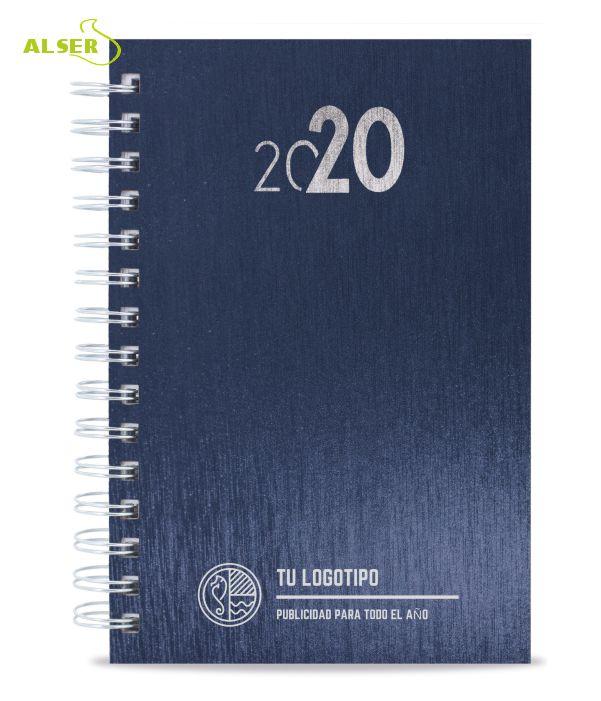 Agenda 2020 Publicitaria para personalizar. Azul
