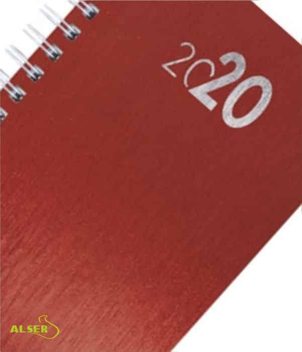 Agenda 2020 Publicitaria para personalizar. Detalle números
