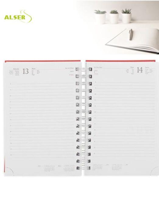 Agenda 2020 Publicitaria para personalizar. Hojas Interiores
