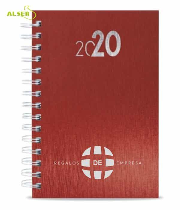 Agenda 2020 Publicitaria para personalizar. Roja