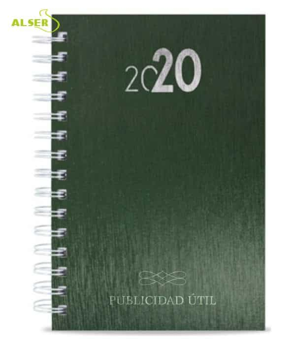 Agenda 2020 Publicitaria para personalizar. Verde
